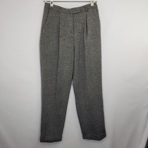 Nordstrom Gray Tweed Cropped Trousers